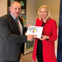 De Waterwilg in Nootdorp krijgt de verlenging van het certificaat Afvalvrijeschool