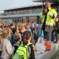 Saamdeel Kapelle aftrap afvalvrijeschool