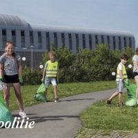 Milieupolitie actief op de OBS de Moolhoek in Kapelle