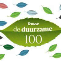 Nominatie Trouw voor de Duurzame Top 100