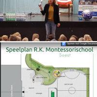 Groen Schoolplein voor Montessorischool